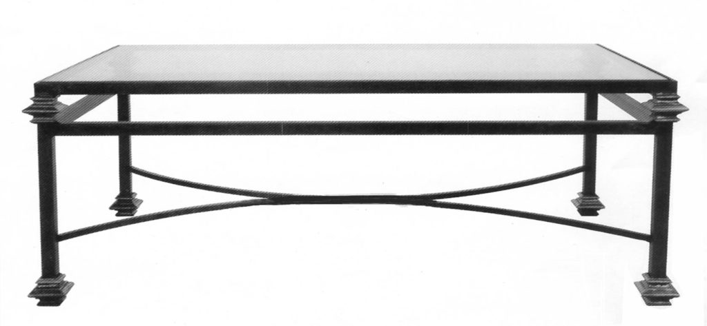 101150 – STEEL COCKTAIL TABLE