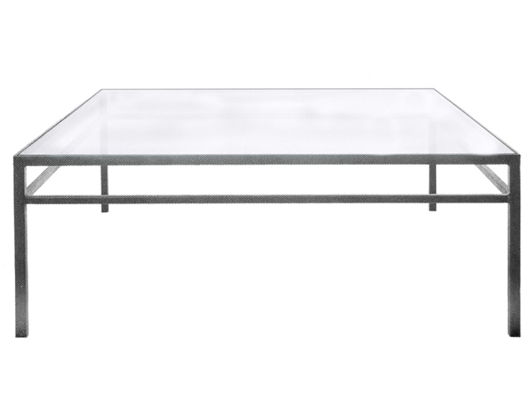 101158 – STEEL COCKTAIL TABLE