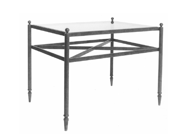 101159 – STEEL COCKTAIL TABLE