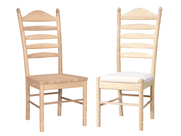 030 – Wood Chair Side Only