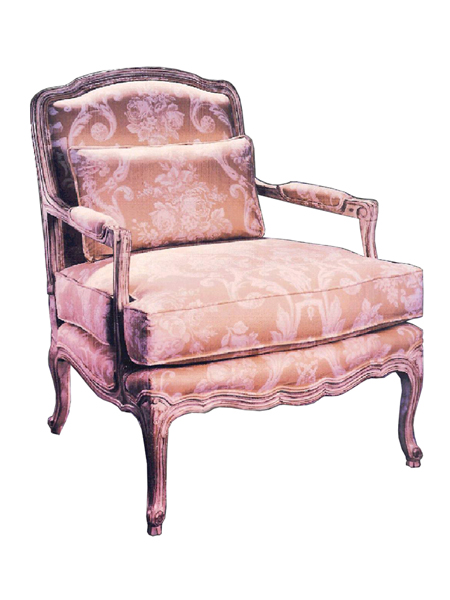 100309 – Occasional Chair & Ottoman
