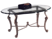 300-134 (FORMERLY 101134-16) – OVAL STEEL COCKTAIL TABLE