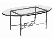 101139 – STEEL COCKTAIL TABLE