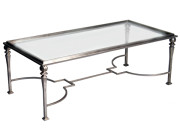 101161 – STEEL COCKTAIL TABLE