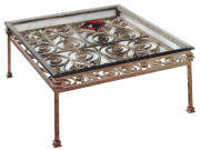 101166 – STEEL COCKTAIL TABLE