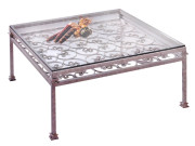 101167 – STEEL COCKTAIL TABLE