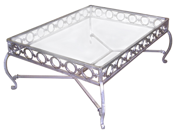 101185 – STEEL COCKTAIL TABLE