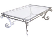 101186 – STEEL COCKTAIL TABLE