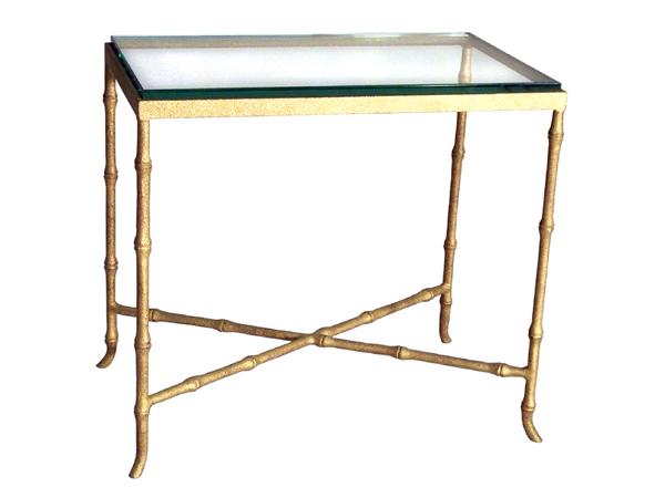 101228 bamboo lamp table creative metal wood. Black Bedroom Furniture Sets. Home Design Ideas