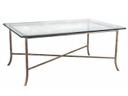 300-232 (FORMERLY 101232) BARK STEEL COCKTAIL TABLE