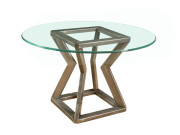 101276 METAL DINING TABLE