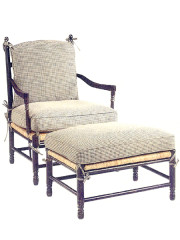 100430 – Occasional Chair & Ottoman