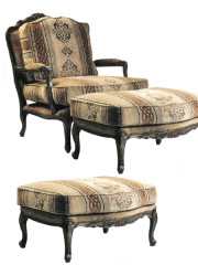 100435 –  Occasional Chair & Ottoman
