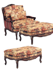42417 – Occasional Chair & Ottoman