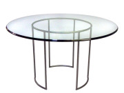 200-247 DRC (FORMERLY 101247) -BARK STEEL DINING TABLE