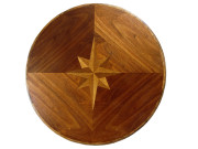 COMPASS ROSE TOP – DINING TABLE