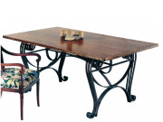 20200 DRA TRESTLE – DINING TABLE