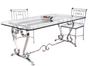 26000T DRA TRESTLE – DINING TABLE