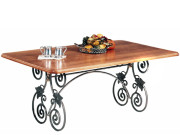 40100 DRA TRESTLE – DINING TABLE
