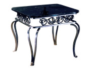300-201 (FORMERLY 20101) – QUEEN ANNE LEG STEEL LAMP TABLE