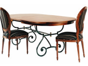 200-508 DRA (FORMERLY 50888 DRB) TRESTLE OVAL DINING TABLE