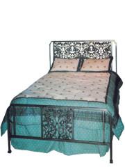 834 – METAL BED