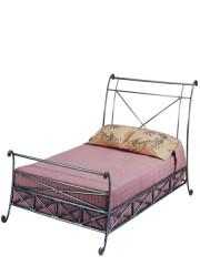846 – METAL BED