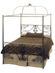 858 – METAL BED