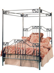 862 – METAL BED