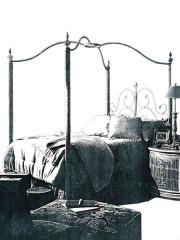 866 – METAL BED