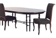 90100 METAL DINING TABLE