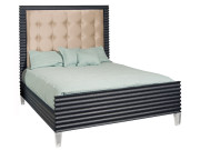 B-22 QUEEN BED WITH ACRYLIC LEGS
