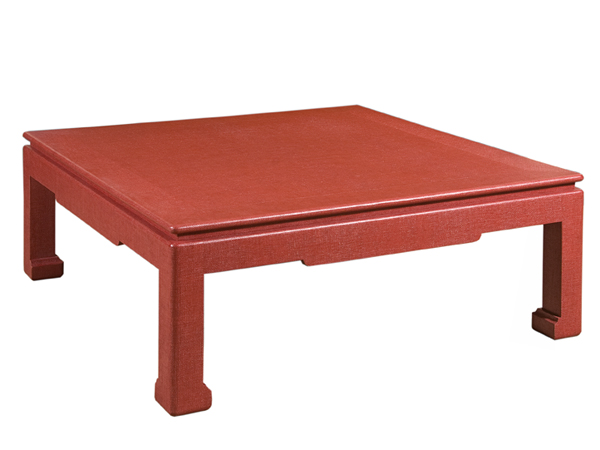 Fw 21 Cocktail Table Red Creative Metal Wood