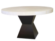 FW-76 HOUR GLASS DINING TABLE