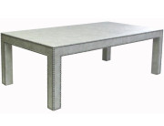 SERIES A COCKTAIL TABLE with NAIL HEAD TRIM