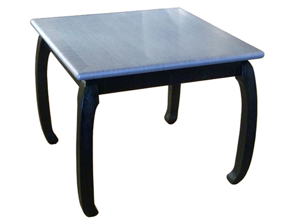 fw 50 dining table creative metal wood