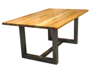 101280 STEEL DINING TABLE