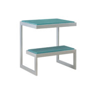 101289 STEEL END TABLE