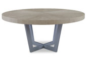 101293 STEEL DINING TABLE